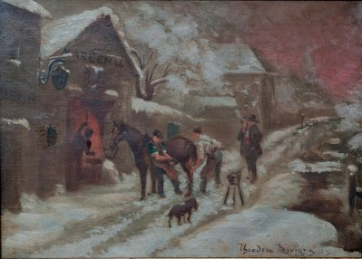 Vente en ligne : The workshop of the Blacksmith - 1909