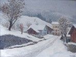 First snow, Les Houches