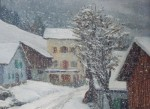ABRATE Angelo First snow, Les Houches